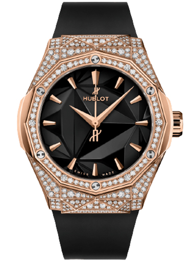 Hublot Classic Fusion Orlinski King Gold Pave Watch-550.OS.1800.RX.1604.ORL19
