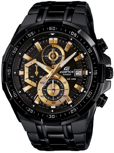 EX187 EFR-539BK-1AVUDF Casio Edifice Chronograph Men's Watch-EX187