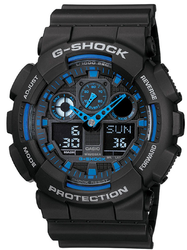 G271 GA-100-1A2DR Casio G-Shock Analog-Digital Men's Watch-G271