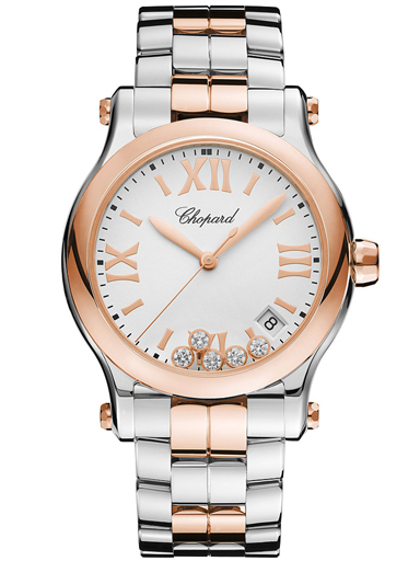 Chopard Happy Sport 36 mm Diamonds Watch-278582-6002