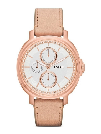Fossil Chelsey Multi-Function Leather Ladies Watch-ES3358