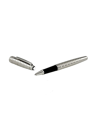 MONTBLANC Platinum-Plated Facet Rollerball Pen-MB38247