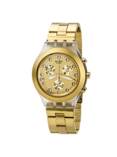 Swatch Full-Blooded Chronograph Gold-tone SVCK4032G-SVCK4032G