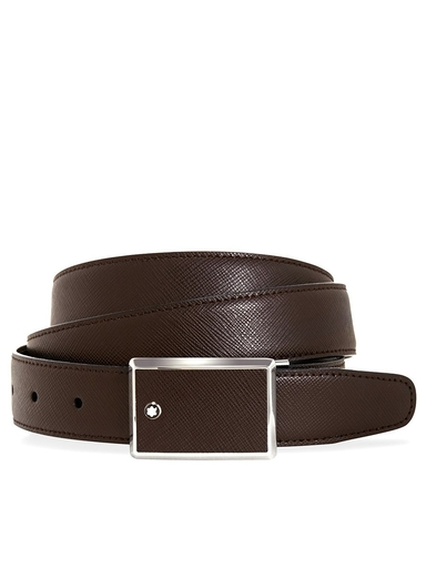 MONTBLANC Contemporary Saffiano Leather Belt-MB114422