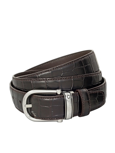 Montblanc Classic Line Brown Belt MB114391-MB114391