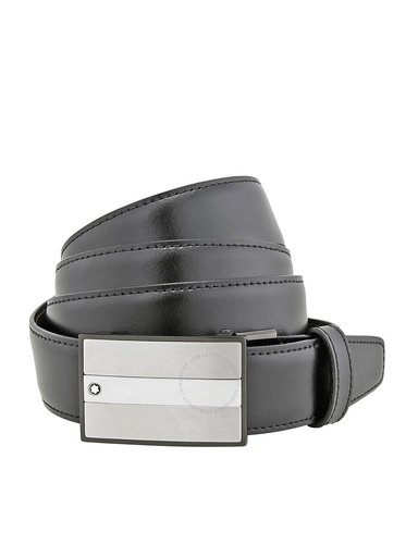 Montblanc Reversible Non-Perforated Leather Belt MB114385-MB114385