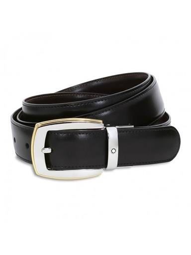 Montblanc Convex Reversible Leather Belt MB111081-MB111081