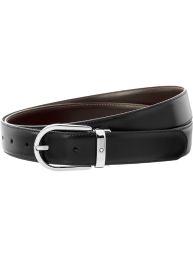 MontBlanc Reversible Leather Men's Belt MB111080-MB111080