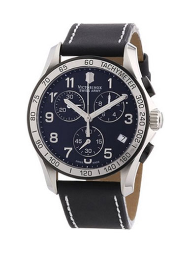 Victorinox Swiss Army Men's Chrono Classic Black Dial Watch-241404