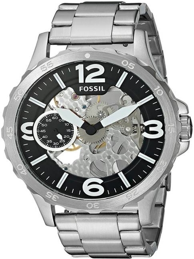 Fossil Nate Steel Analog Watch for Men-ME3129