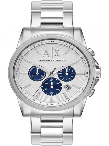 a/x smart chrono silver dial stainless steelwatch-AX2500