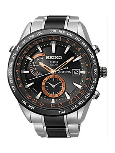Seiko Astron Men´s Black Watch-SAST017G