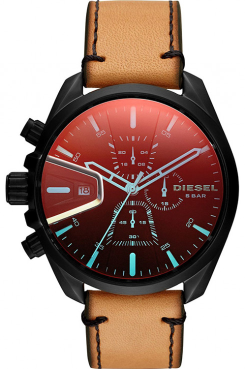 DIESEL MS9 Multi Color Dial Leather Watch DZ4471-DZ4471