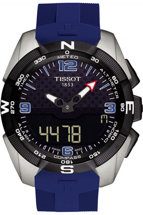 Tissot T Touch Expert Solar Ice Hockey Men's Watch-T0914204705702