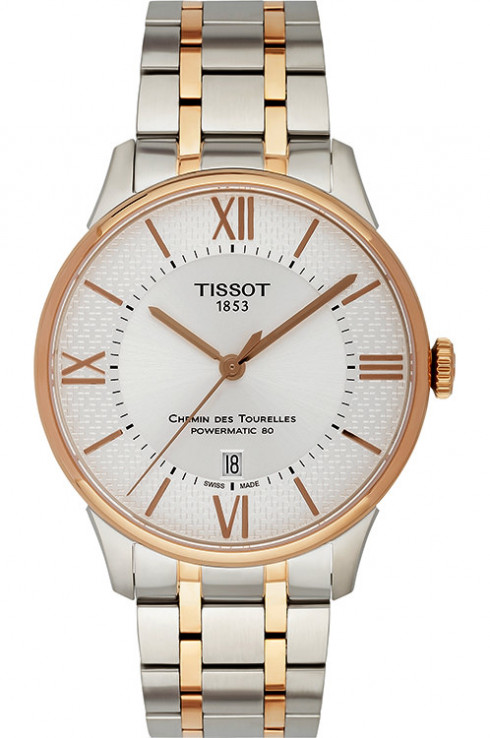Tissot Chemin des Tourelles Helvetic Powermatic 80 Pride Special Edition Men's Watch-T0994072203801