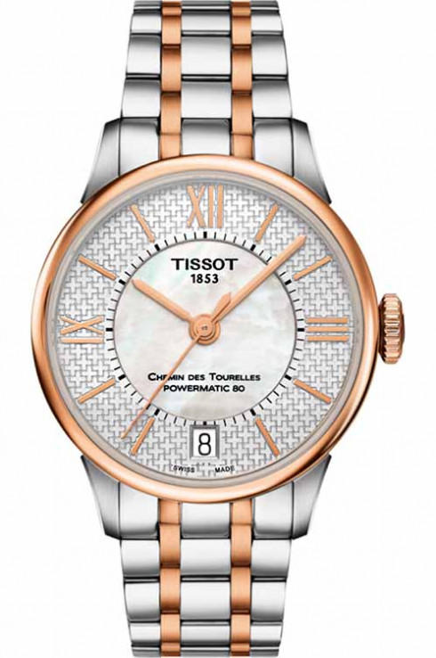 Tissot Special Edition Chemin des Tourelles Powermatic 80 Helvetic Pride Watch for Women-T0992072211801