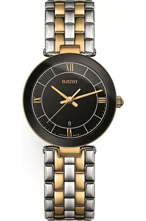 Rado Florence Quartz Black Dial Women's Watch-R48871173