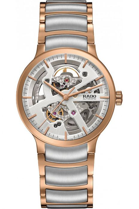 Rado Centrix Automatic Silver Skeleton Dial Men's Watch-R30181103