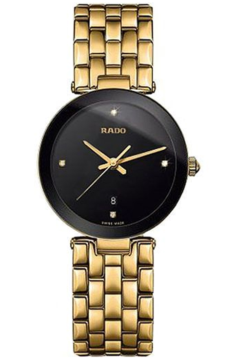 Rado Florence Diamonds Black Dial Women's Watch-R48871714