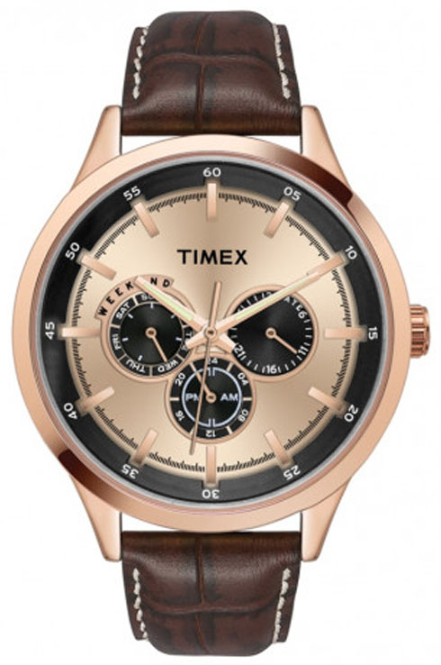 timex fashion rose-gold dial men watch tw000t311-TW000T311
