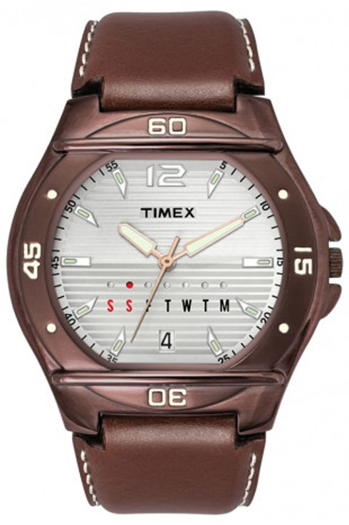 Timex Fashion Silver Dial Men Watch TW000EL13-TW000EL13
