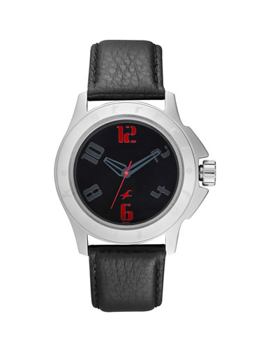fastrack analog multi-color dial men's watch 75-3075SL04