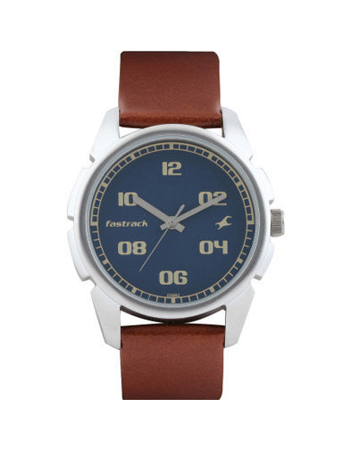 Fastrack Casual Analog Blue Dial Men's Watch 02 -3124SL02
