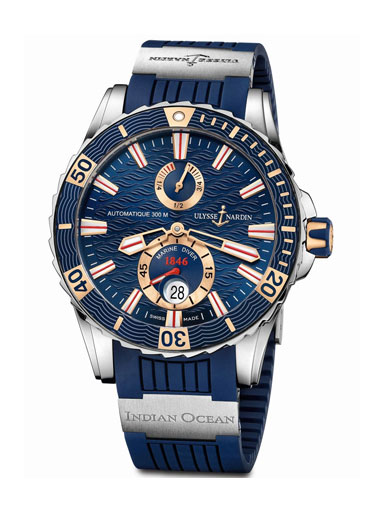 Ulysse Nardin Marine Diver Indian Ocean Watch-265-10LE-3/93