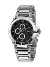 Tommy Hilfiger Analog Black Dial Watch For Men's-TH1790472J
