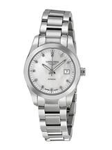 Longines Conquest Classic Automatic Mother of Pearl Dial Stainless Steel Ladies Watch-L22854876