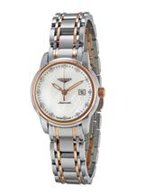 Longines Saint Imier Mother of Pearl Dial Gold and Steel Ladies Watch-L25635887