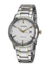 Citizen Eco-Drive Analog White Dial Men's Watch-AW1084-51A