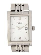 Citizen White Dial Analog Stainless Steel Men's Watch-BH1370-51A
