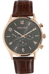 Police Round Analog Black Dial Men's Watch-PL14924JSR61