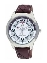 Q&Q Standard Analog White Dial Men's Watch-A148J304Y