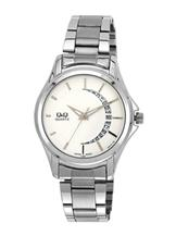 Q&Q Regular Analog White Dial Men's Watch-A436-201Y