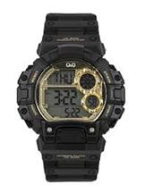 Q&Q Digital Black Colour Watch For Men-M144J004Y