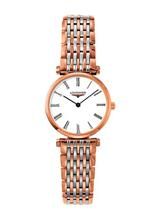 Longines La Grande Classique White Dial Two-tone Ladies Watch-L42091917