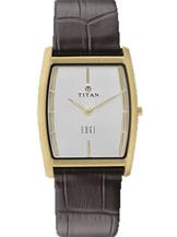 Titan Edge Men Leather Watch - NF1044YL06-NF1044YL06