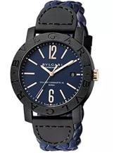 Bvlgari  Blue Dial Automatic Men's Watch-102634