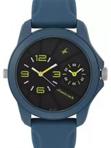 Fastrack 38042PP03 Two Timers Watch For Men-38042PP03