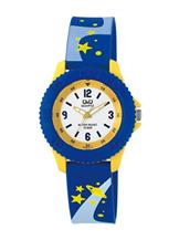 Q&Q Pixie White Dial Analog Watch For Children's-VQ96J018Y