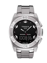 tissot racing touch black dial watch-T1014104403100