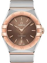 Omega Constellation Manhattan Brown Dial  Watch-O13120286013001