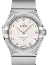 Omega Constellation Manhattan Women's Silver Dial Watch-O13110286052001