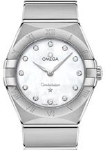 Omega Constellation Women Quartz Diamonds Watch-O13110286055001