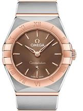 Omega Constellation Manhattan Brown Dial Women's Watch-O13120256013001