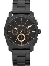Fossil Machine Round Analog Dark Brown Dial Men's Watch-FS4682IE