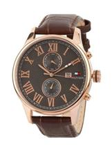Tommy Hilfiger Brown Chronograph Watch-NTH1710292/D