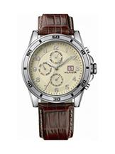 Tommy Hilfiger Chronograph Beige Dial Watch -NTH1790739/D